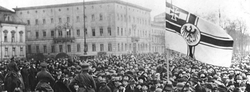 there revolution germany 1918 essay Political disorder: the weimar republic and revolt 1918-23 home  one should note that there were people who wanted germany to prosper after the war.