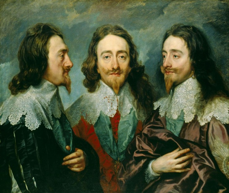Triple-portrait-King-Charles-I-Anthony-van-Dyck-1635-1636