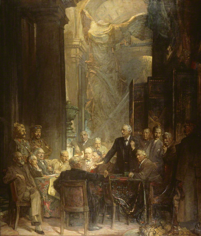 NPG 2463; Statesmen of World War I by Sir James Guthrie