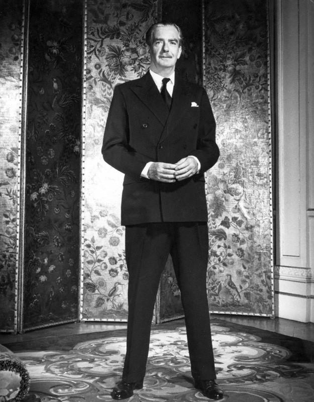 NPG P398; Anthony Eden, 1st Earl of Avon by Philippe Halsman