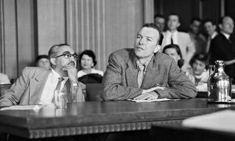 Pete Seeger at the House Un-American Activites committee