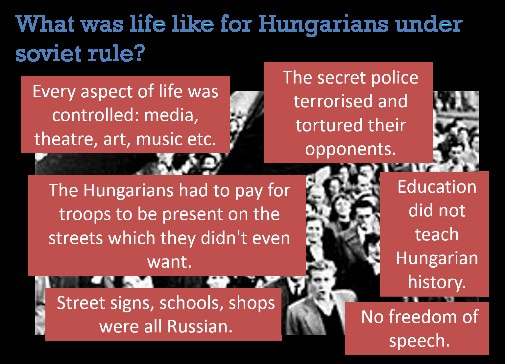 Life for Hungary under USSR